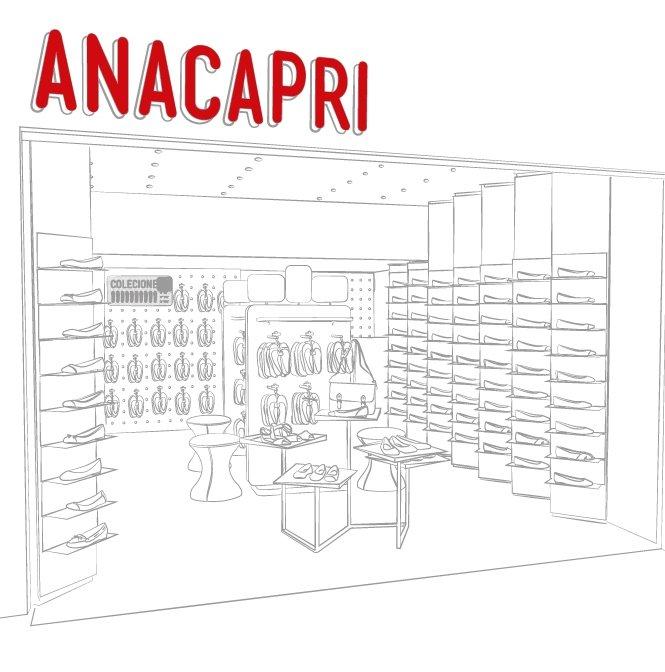 Anacapri - Sobre as lojas