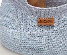 Tênis Azul Jeans Knit