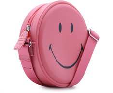 Crossbody Redonda Smiley Confete