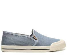 Slip On Azul Jeans Light Blue