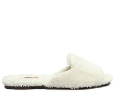 Rasteira Branca Comfy