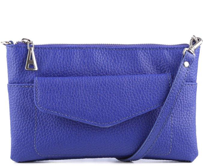 Clutch Leon Azul