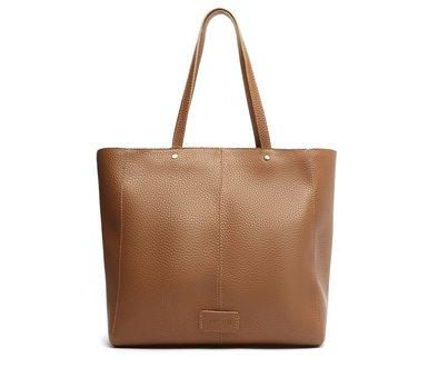 Bolsa Shopping Marrom Clutch