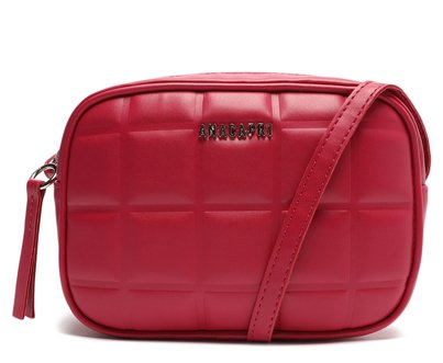 Crossbody Rosa Rouge Quadriculado Pequeno