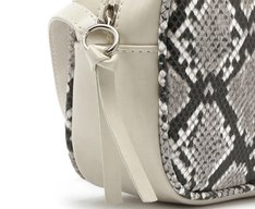 Crossbody Cobra Cinza