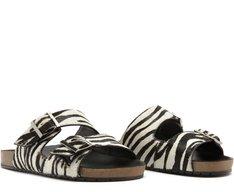 Sandália Fivelas Zebra