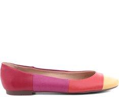 Sapatilha Faixas Multicolor Pink