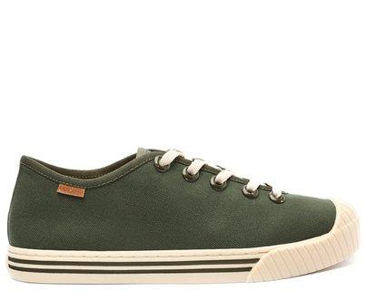 Tênis Verde Militar Lona Alê