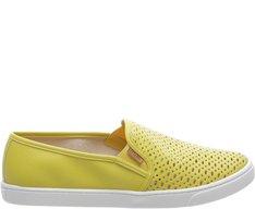 Tênis Slip On Básico Amarelo