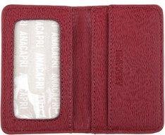 Porta cartões Vermelho