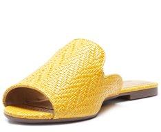 Mule Aberta Trissê Amarela