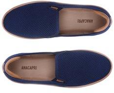 Tênis Slip On Knit Azul Marinho