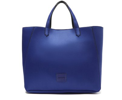 Bolsa Shopping Azul Grande Satim