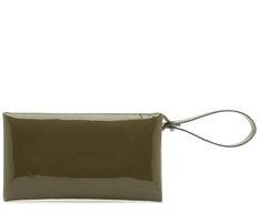 Carteira Verniz Verde Militar