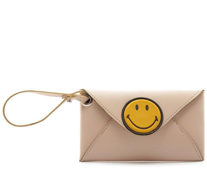 [PRÉ VENDA]Carteira Smiley Blush