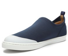 Tênis Slip On Azul Neoprene