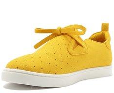 Tênis Malu Slip On Amarelo