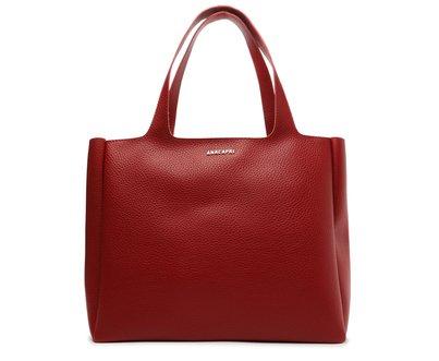 Bolsa Shopping Vermelha Clássica Grande