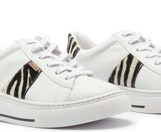 Tênis Dani Recorte Zebra
