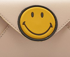 Carteira Smiley Blush