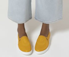 Tênis Slip On Smiley Amarelo