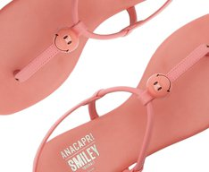 Rasteira Slim Smiley Confete