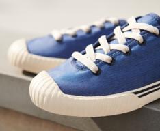 Tênis Azul Lona Alê