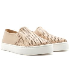 Tênis Slip On Ana Sola Alta Blush