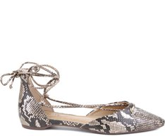 Sapatilha Lace Up Snake