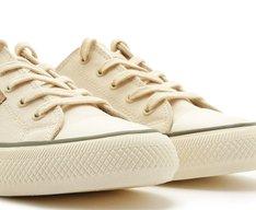 Tênis Rafa Lona New White