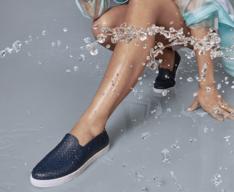 Tênis Slip On Azul Marinho Ana Splash