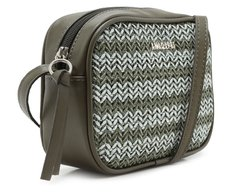 Crossbody Tressê Degradê Verde Militar