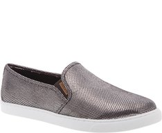 Tênis Slip On Snake Metalizado