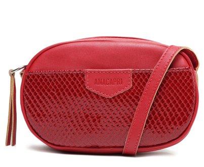 Bolsa Vermelha Oval