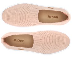 Tênis Slip On Sola Alta Knit Blush
