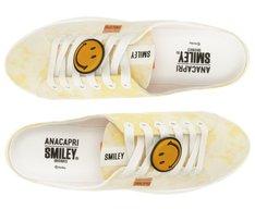 Tênis Mule Smiley Tie-Dye Amarelo