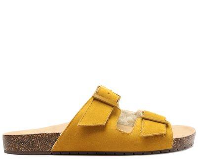 Slide Amarelo Apeluciado Fivelas