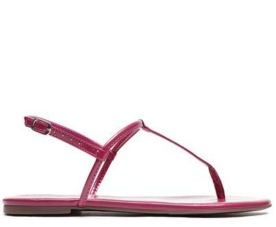 Rasteira Pink Verniz Slim