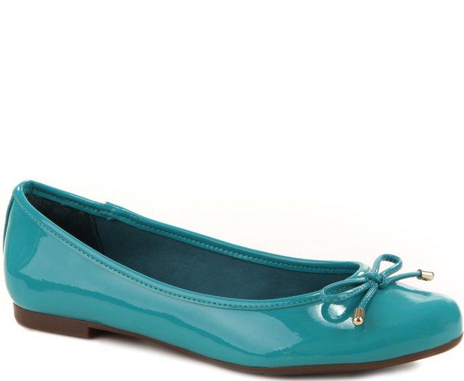 Sapatilha Clássica Verniz Azul