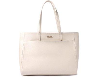 Bolsa Shopping  Branca Bolso Externo