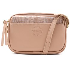 Crossbody 3 em 1 Croco Blush