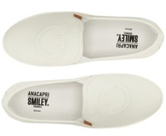 Tênis Slip On Smiley Branco