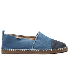 Alpargata Azul Lona Cap Toe Jeans