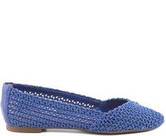 Sapatilha Crochê Azul