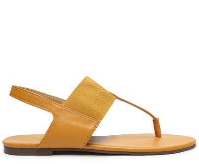 Sandália Amarelo Páprica Elástico