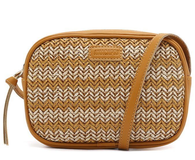 Crossbody Tressê Degradê Páprica