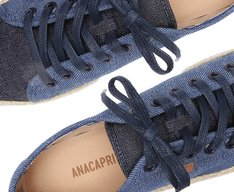 Tênis Bia Flatform Jeans Bicolor