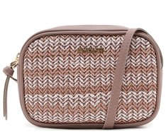 Crossbody Tressê Degradê Rosa Antik
