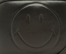 Crossbody Smiley Preta
