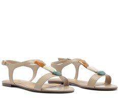 Sandálias Pedras Bege